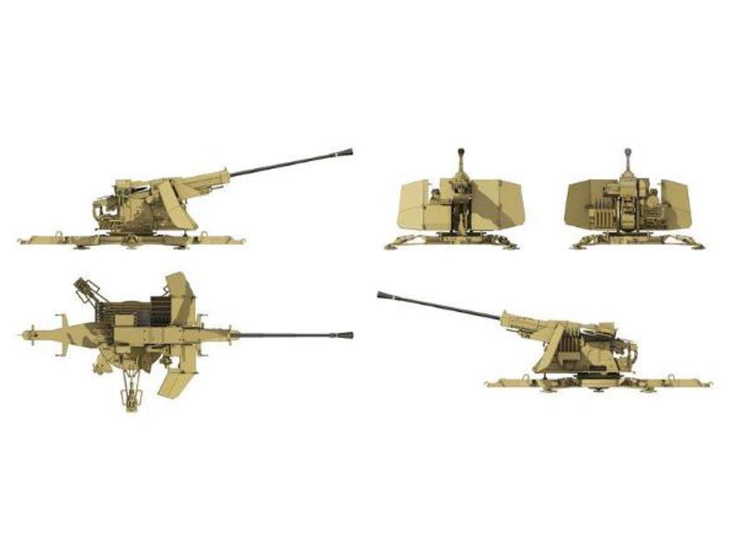 5,5cm Flak (VG2) Gerät 58 Autom. Flugabwehrkanone (Vista 4)