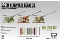 5,5cm Flak (VG2) Gerät 58 Autom. Flugabwehrkanone (Vista 10)
