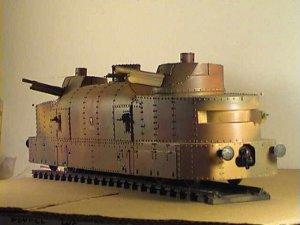 Vagón artillería blindado polaco   (Vista 1)