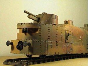 Vagón artillería blindado polaco   (Vista 3)