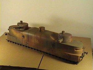 Vagón artillería blindado polaco   (Vista 6)