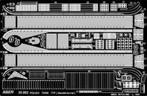 Carro polaco 7TP - Dos torretas - Ref.: ABER-35002