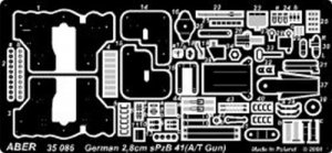 2,8cm sPzB41 (A/T gun) also for Sd.Kfz.2