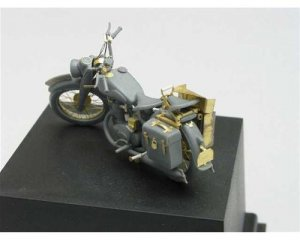DKW German military motorcycle