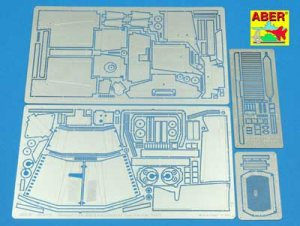 Sd.Kfz. 11-Late Fenders&Engine Overlay -  (Vista 1)