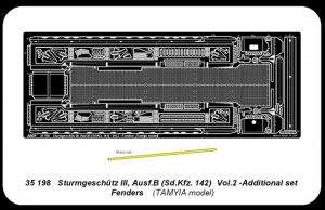 Sturmgeshütz III, Ausf. B , Ausf. B (Sd.  (Vista 4)