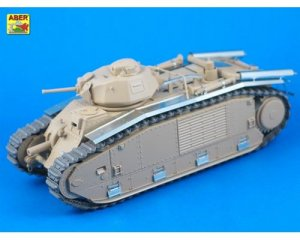 French Battle Tank B1 bis with narrow fe  (Vista 1)