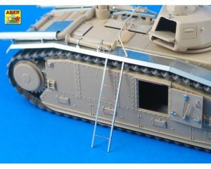 French Battle Tank B1 bis with narrow fe  (Vista 2)