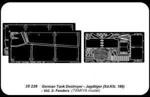 Jagdtiger (Sd.Kfz. 186) vol. 2 Fenders  (Vista 4)