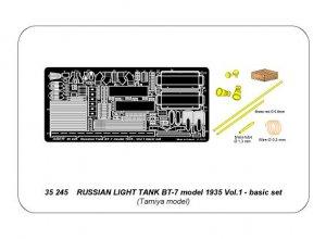 Russian light tank BT-7 - vol.1 - basic   (Vista 5)