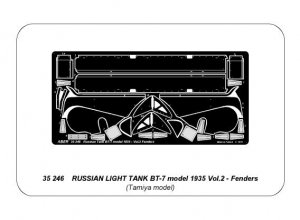 Russian light tank BT-7 - vol. 2 - addit  (Vista 4)