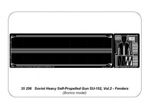 SU-152 (KV-14) - Vol.2 Fenders  (Vista 4)