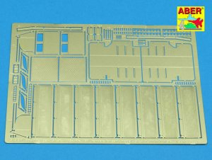 Side fenders for Tiger I H1 (Afrika Korp  (Vista 1)
