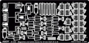 Revistas y municiones  20mm Kwk 20& 38  (Vista 1)