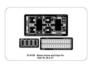 Cajas de munición Flak 18; 36 y 37  (Vista 4)