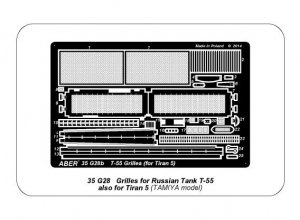 Rejillas para T-55 also Tiran 5  (Vista 6)