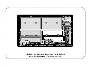 Rejillas para T-55 ENIGMA  (Vista 6)