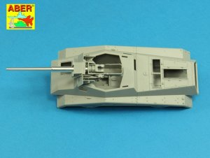 German barrel for Sd.Kfz.234/4 mit 7,5cm  (Vista 4)