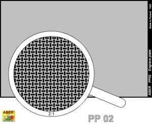 Engrave plate (88 x 57mm) - pattern 02  (Vista 2)
