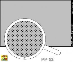 Engrave plate (88 x 57mm) - pattern 03  (Vista 2)