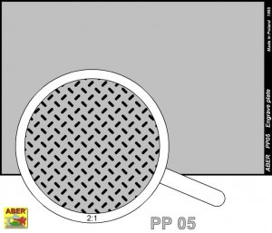 Engrave plate (88 x 57mm) - pattern 05