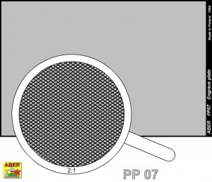Engrave plate (88 x 57mm) - pattern 07  (Vista 2)