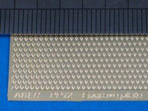 Engrave plate (88 x 57mm) - pattern 12  (Vista 1)