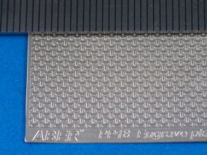 Engrave plate (140 x 77 mm) - German typ  (Vista 1)