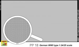 Engrave plate (140 x 77 mm) - German typ