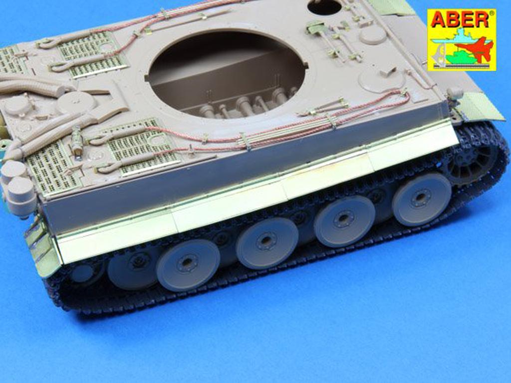 Defensas y cubre escape para Tiger I (Vista 2)