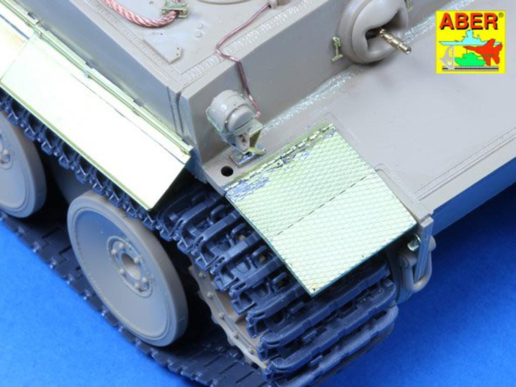 Defensas y cubre escape para Tiger I (Vista 4)
