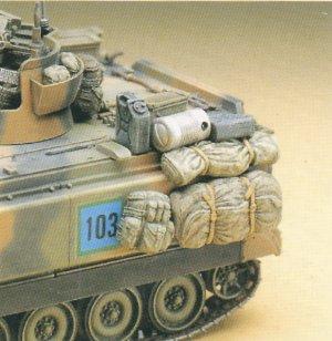 Ecomodelismocom M163 A1a2 Vulcan Spaag Afv 135 Scale Models