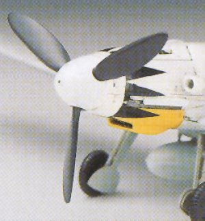 Bf-109 G14 Messerschmitt  (Vista 3)