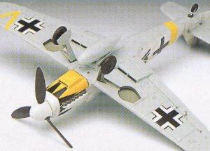 Bf-109 G14 Messerschmitt  (Vista 4)