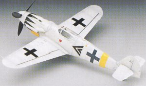 Bf-109 G14 Messerschmitt  (Vista 5)
