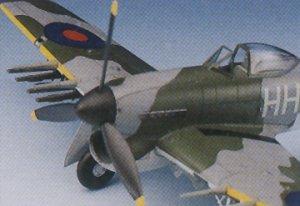 Hawker Typhoon Mk.Ib   (Vista 4)