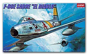 F-86E Sabre El Diablo - Ref.: ACAD-01681