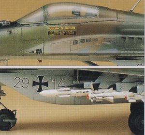 Mikoyan MIG-29A Fulcrum A  (Vista 3)