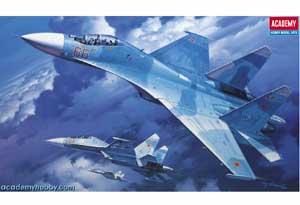 Su-27UB Flanker C  (Vista 1)