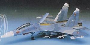 Su-27UB Flanker C  (Vista 2)
