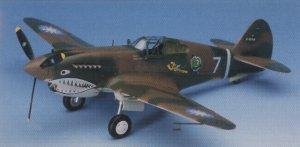 P-40C Tomahawak  (Vista 2)