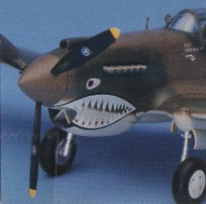 P-40C Tomahawak  (Vista 3)