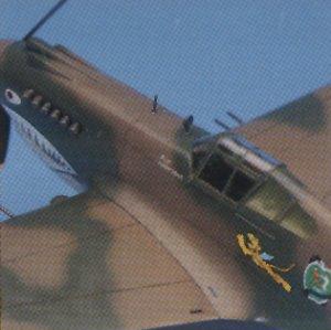 P-40C Tomahawak  (Vista 4)