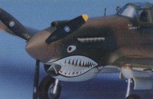P-40C Tomahawak  (Vista 5)