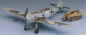 Bf-109E 3/4 Heinz Bar with Kettenkrad  (Vista 2)