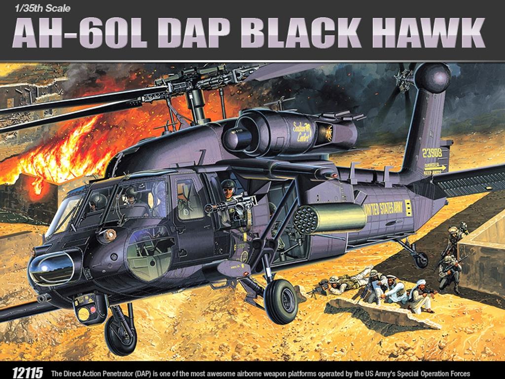 AH-60L Dap Black Hawk  (Vista 1)