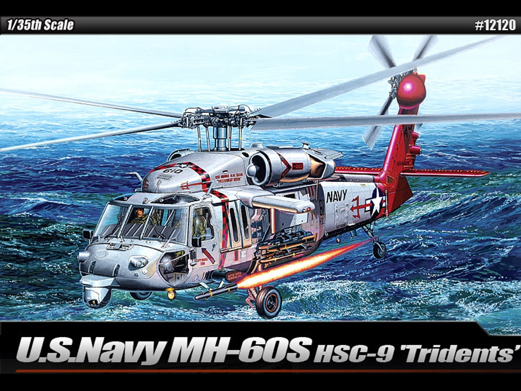 U.S.Navy MH-60S HSC-9 Tridents