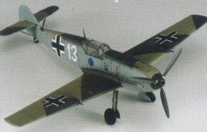 Bf-109E-3 - Heinz Bar   (Vista 2)