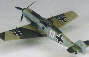 Bf-109E-3 - Heinz Bar   (Vista 3)