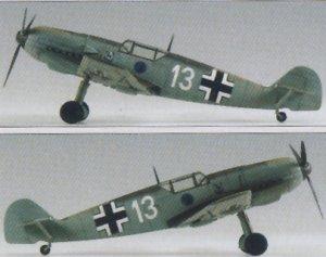 Bf-109E-3 - Heinz Bar   (Vista 4)